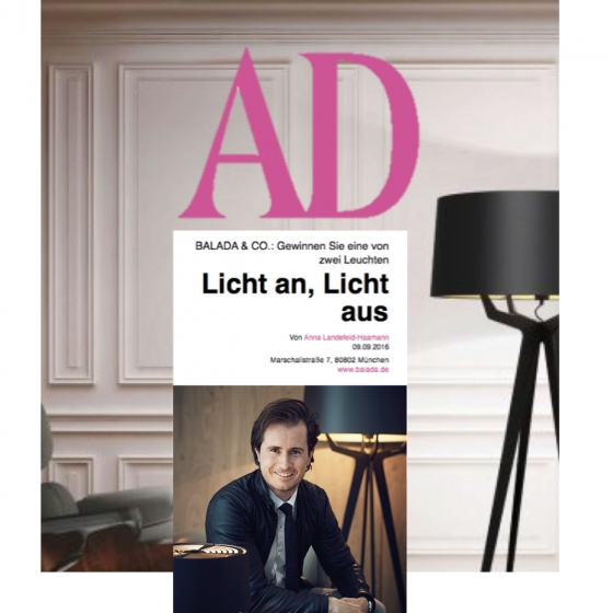 ARCHITECTURAL DIGEST – Interview with Christian von Petersdorff